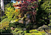 Robert Plant Print Posters - San Francisco Golden Gate Park Japanese Tea Garden 9 Poster by Robert Santuci