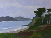 Marin County Originals - San Francisco Headlands by Dave Mazza