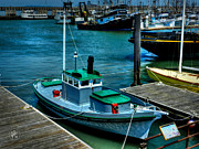 Ghirardelli Framed Prints - San Francisco - Hyde Street Pier - The Wetton Framed Print by Lance Vaughn