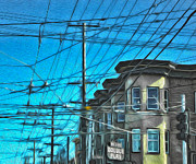 San Francisco - Mission District - 01 Print by Gregory Dyer