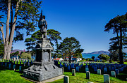 Patriot Photography Prints - San Francisco National Cemetery Soldiers Memorial Print by Scott McGuire