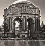 San Francisco - Palace Of Fine Arts - 01 Print by Gregory Dyer
