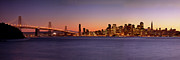 Bay Bridge Photos - San Francisco Skyline by Brian Jannsen