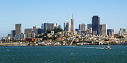 City By Water Prints - San Francisco Skyline Print by Kelley King