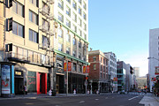 Stockton Prints - San Francisco Stockton Street at Union Square - 5D20564 Print by Wingsdomain Art and Photography