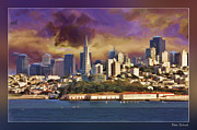 Blake Richards Framed Prints - San Francisco Summer Framed Print by Blake Richards
