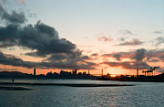 Oakland Photo Originals - San Francisco Sunset by David Klein