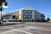 San Jose Prints - San Jose Shark Tank SAP Arena San Jose California 5D25236 Print by Wingsdomain Art and Photography