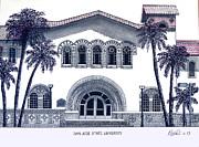 San Jose State University Print by Frederic Kohli