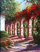 San Juan Paintings - San Juan Capistrano Mission by Gail Salituri