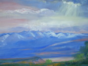 San Juan Paintings - San Juan Mountains Colorado by Patricia Kimsey Bollinger