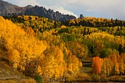 San Juan Mountains In Autumn Print by Jetson Nguyen