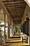 Oceanside California Posters - San Luis Rey Mission - California Poster by Jon Berghoff