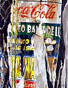 Coca-cola Sign Paintings - San Pancho by Michael Ward
