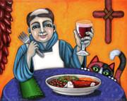 San Pascual Cheers Print by Victoria De Almeida