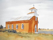 San Rafael Church Prints - San Rafael Print by Gary Bailey
