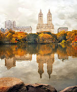 New York Digital Art - San Remo Reflections by Jessica Jenney