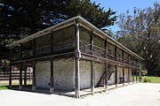 Adobe Architecture Prints - Sanchez Adobe Pacifica California 5D22642 Print by Wingsdomain Art and Photography