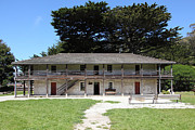 Sanchez Prints - Sanchez Adobe Pacifica California 5D22644 Print by Wingsdomain Art and Photography