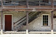 Adobe Architecture Prints - Sanchez Adobe Pacifica California 5D22656 Print by Wingsdomain Art and Photography