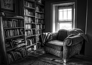 Book Stacks Prints - Sanctuary Print by Scott Norris