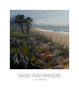J R Baldini Metal Prints - Sand and Breeze Metal Print by J R Baldini