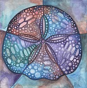 Dollar Paintings - Sand Dollar by Tamara Phillips