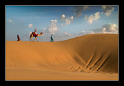 Sand Dunes Photo Originals - Sand Dunes by Mukesh Srivastava