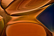 Handblown Glass Art Glass Art - Sand Dunes by Omaste Witkowski