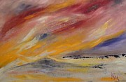 Sand Dunes Paintings - Sand Dunes by PainterArtist FIN