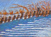 Bryan Allen - Sand Fence Winter