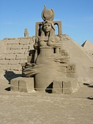 Scupture Sculptures - Sand Sculpture by Maria Joy