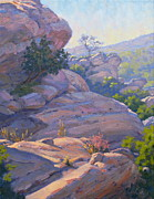 Plein Air Art - Sandstone Beauty by Elena Roche