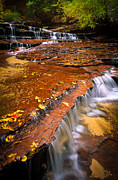 Nps Prints - Sandstone Cascade Print by Inge Johnsson