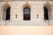 Irs Photos - Sandstone Facade  by Jim Pruitt