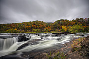 Dan Friend - Sandstone Falls in the Fall