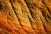 Sandstone Formation Photos - Sandstone of Time by David Lee Thompson