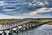 Sandwich Boardwalk Print by Lori Cooney