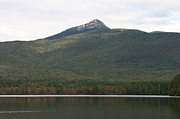 Foliage In White Mountains Posters - Sandwich Range Mt Chocorua View Across Lake Poster by Denyse Duhaime
