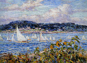 Reynolds Digital Art Posters - Sandy Bay Cape Ann Massachusetts Poster by Reynolds Beal