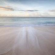 Subtle Colors Photo Prints - Sandy beach at sunrise - Barbados Print by Matteo Colombo