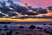 Sandy Beach South Shore Oahu Hawaii Print by Leslie Kirk