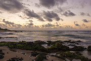Sandy Beach Sunrise 10 - Oahu Hawaii Print by Brian Harig
