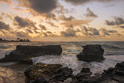 Amazing Prints - Sandy Beach Sunrise 8 - Oahu Hawaii Print by Brian Harig