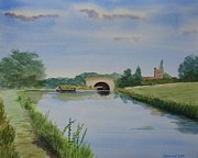 Union Bridge Paintings - Sandy Bridge by Martin Howard