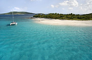 Cay Photos - Sandy Cay BVI by Bryan Allen
