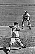First Baseman Framed Prints - Sandy Koufax Painting Framed Print by Florian Rodarte