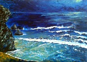 Scotland Paintings - Sango Bay Durness by Dawn Noble