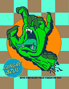 Surf Culture Posters - Sangre Azul Poster by Dedos