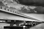 Storm Prints Framed Prints - Sanibel Causeway II Framed Print by Steven Ainsworth